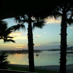 Photo taken at Bahia Resort Hotel - San Diego by Gail W. on 9/8/2012