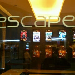Photo taken at Escape Cinemas by Sathish K. on 4/8/2012