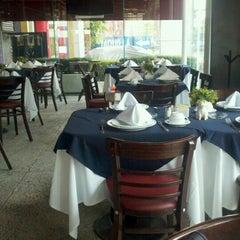 Photo taken at La Taba Restaurante Argentino by Luis Miguel R. on 4/15/2012