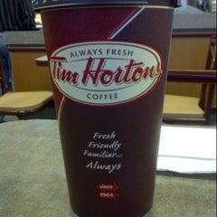 Photo taken at Tim Hortons by Sean K. on 9/10/2012
