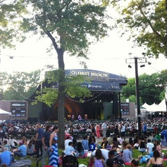 Photo taken at Celebrate Brooklyn!/Prospect Park Bandshell by Julia M. on 6/9/2012