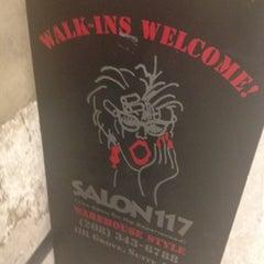 Photo taken at Salon 117 by Harmony B. on 8/7/2012