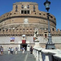 Photo taken at Ponte Sant'Angelo by Mattia N. on 8/29/2012