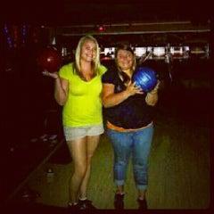 Photo taken at Royal Lanes Bowling Alley by Nikki F. on 9/2/2012