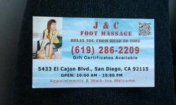 J & C Foot Massage