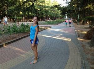 Парк санатория «Алуштинский»