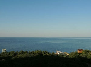 Пляж санатория Зори Украины