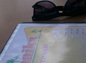 Какой-то бар на пляже