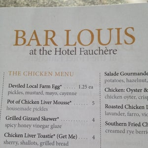 Photo of Bar Louis at Hotel Fauchere