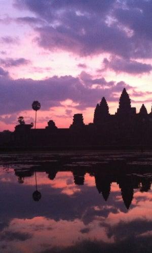 Sunrise @ Angkor Wat