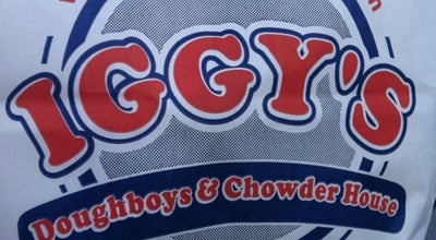 Photo of Seafood Restaurant Iggy's Doughboys & Chowder House at 889 Oakland Beach Ave, Warwick, RI 02889, United States