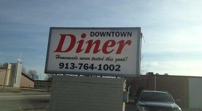 Photo of American Restaurant Downtown Diner at 409 E Santa Fe St, Olathe, KS 66061, United States