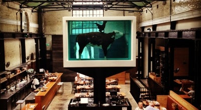 Photo of Steakhouse Tramshed at 32 Rivington St, Shoreditch EC2A 3LX, United Kingdom