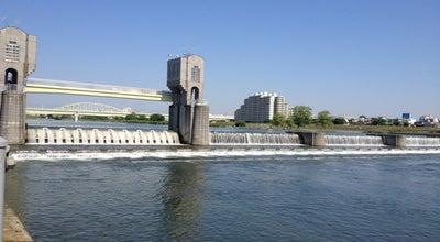 Photo of Lake 二ヶ領用水 宿河原堰堤 at Japan
