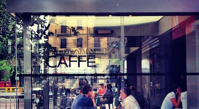 Photo of Cafe Emporio Armani Caffè at Via Croce Rossa 2, Milano 20121, Italy