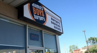 Photo of Burger Joint Mama's Boys Burgers at 480 Danforth Rd., Scarborough, ON M1K 1C7, Canada