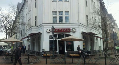 Photo of Cafe Woyton at Erftstr. 1, Düsseldorf 40219, Germany