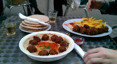 Photo of Falafel Restaurant Hummus Bar at Hollán Ernő U. 6., Budapest 1136, Hungary