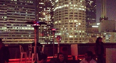 Photo of Hotel Bar Rooftop Bar at The Standard at 550 S Flower St, Los Angeles, CA 90071, United States