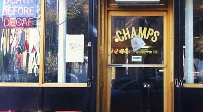 Photo of Vegetarian / Vegan Restaurant Champs at 197 Meserole St, Brooklyn, NY 11206, United States