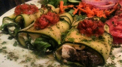 Photo of Vegetarian / Vegan Restaurant Palm Greens Café at 611 S Palm Canyon Dr, Palm Springs, CA 92264, United States