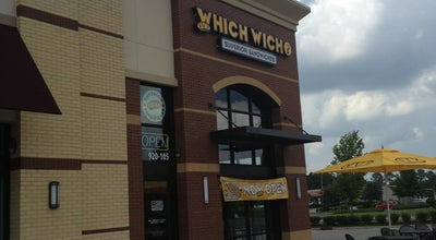 Photo of Sandwich Place Which Wich at 920 Cromwell Drive, Greenville, NC 27834, United States