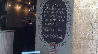 Photo of Cocktail Bar Figa Food Bar at Buvinina 1, Split 21000, Croatia