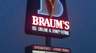 Photo of Ice Cream Shop Braum's Ice Cream & Dairy Store at 6770 Bridge St, Fort Worth, TX 76112, United States