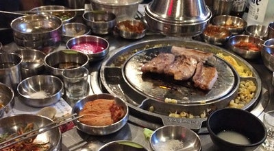 Photo of Korean Restaurant Kang Ho Dong Baekjeong at 1 E 32nd St, New York, NY 10016, United States