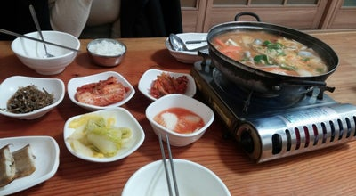 Photo of Seafood Restaurant 진미꽃게탕 at 시청서1길 8-12, 여수시 555-809, South Korea