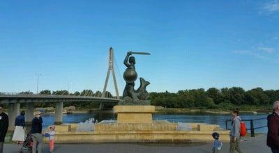 Photo of Monument / Landmark Pomnik Syrenki na Powiślu at Wybrzeże Kościuszkowskie, Warszawa, Poland