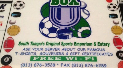 Photo of Sports Bar Press Box Sports Emporium & Eatery at 222 S Dale Mabry Hwy, Tampa, FL 33609, United States