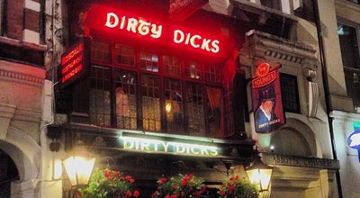 Photo of Pub Dirty Dicks at 202 Bishopsgate, Bishopsgate EC2M 4NR, United Kingdom