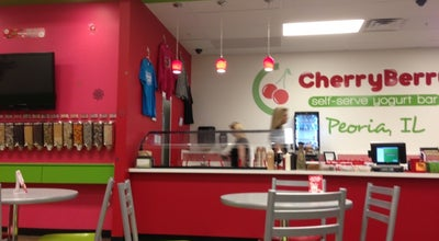 Photo of Ice Cream Shop CherryBerry Yogurt Bar at 2601 W Lake Ave, Peoria, IL 61615, United States