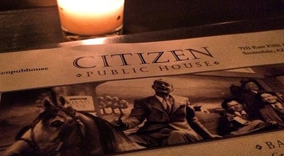 Photo of Gastropub Citizen Public House at 7111 E 5th Ave, Scottsdale, AZ 85251, United States