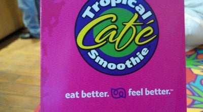 Photo of Smoothie Shop Tropical Smoothie Cafe at 30971 5 Mile Rd, Livonia, MI 48154, United States