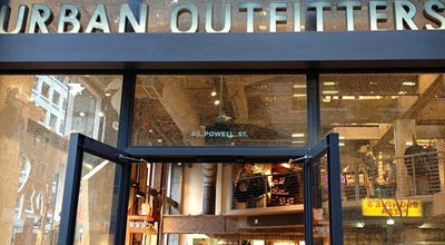 Photo of Clothing Store Urban Outfitters at 80 Powell St, San Francisco, CA 94102, United States