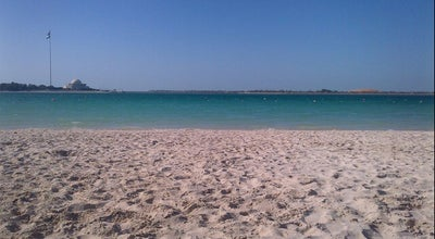 Photo of Beach Corniche Public Beach at Corniche Road, Abu Dhabi, United Arab Emirates
