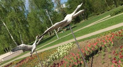 Photo of Monument / Landmark Пушка на Канале at Королев, Russia