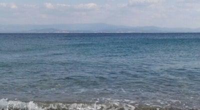 Photo of Beach Altınoluk Mavi Bayrak Plaj at Altınoluk, Balıkesir, Turkey