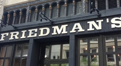 Photo of American Restaurant Friedman's at 132 W 31st St, New York, NY 10001, United States