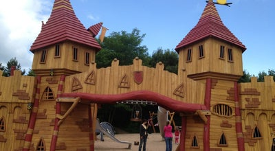 Photo of Playground Spillplaatz Scheiwisschen (Castle Park) at Rue Charlemagne, Luxembourg, Luxembourg