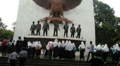 Photo of Historic Site Monumen Pancasila Sakti at Jalan Lubang Buaya, Jakarta Timur, Indonesia