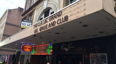 Photo of Rock Club The Classic Grand at 18 Jamaica St., Glasgow G1 4QD, United Kingdom