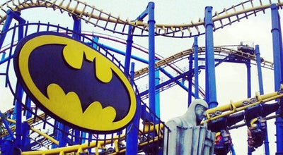 Photo of Theme Park Ride / Attraction Batman The Ride at Six Flags, Tlalpan 14200, Mexico