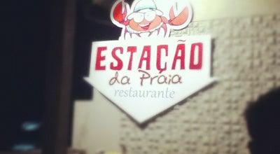 Photo of Brazilian Restaurant Estação da Praia at Av. Atlântica, Macaé 27920-390, Brazil