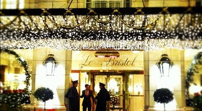 Photo of Hotel Le Bristol at 112 Rue Du Faubourg Saint-honoré, Paris 75008, France