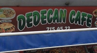 Photo of Cafe Dedecan Cafe at Turkey