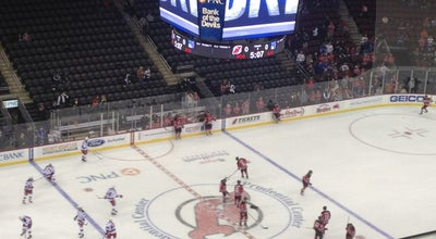 Photo of Hockey Arena Prudential Center at 165 Mulberry St, Newark, NJ 07102, United States