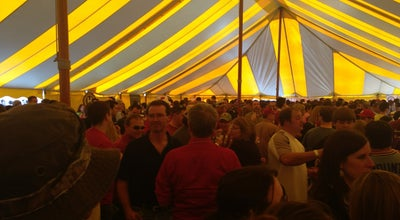 Photo of Beer Garden Between The Bluffs Wine Beer Cheese Festival at La Crosse, WI 54603, United States
